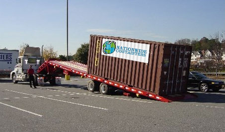 Nationwide Container Delivery Tips, rental container, storage container, mobile containers